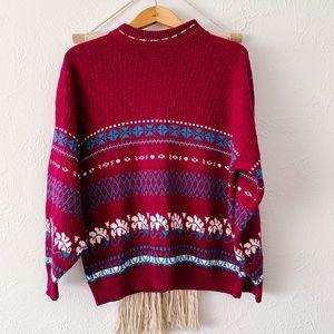 Vintage American Pride Drop Shoulder Sweater